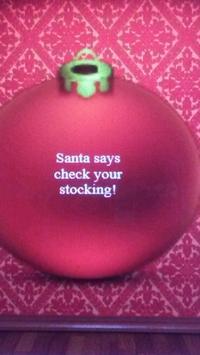 Christmas Magic Ornament (8 Ball) poster