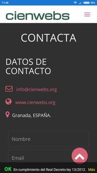 Cienwebs-App apk screenshot