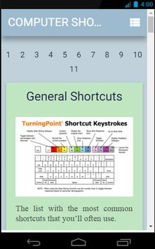 Computer Shortcuts {200+ Keys} apk screenshot