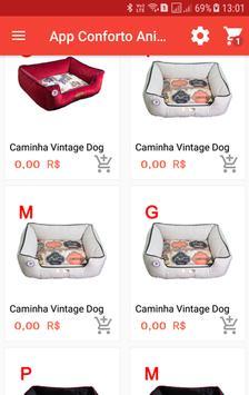 App Conforto Animal - Tablet screenshot 1