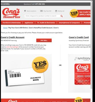 conns payment phone