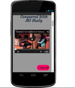 Conquered TV apk screenshot