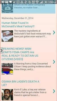 Conspiracy Theories apk screenshot