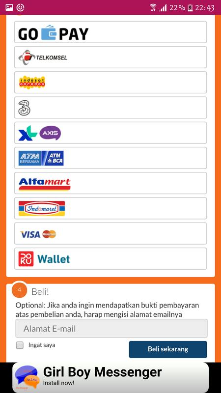 Coda shop topup diamond ml indo for android apk download coda shop topup diamond ml indo screenshot 2 stopboris Images