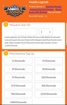 Coda shop diamond ml via pulsa for android apk download coda shop diamond ml via pulsa poster stopboris Images