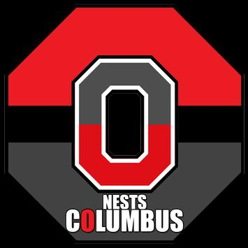 Columbus Nests {Map} poster