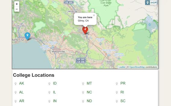 College Locator apk screenshot