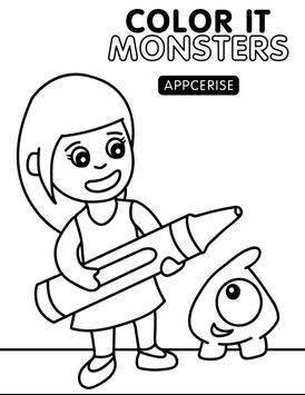 Color It Monsters poster