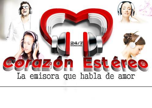 Corazon Stereo poster