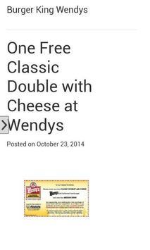 Coupons 4 KFC Dominos,TacoBell apk screenshot