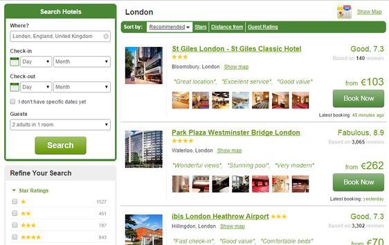 Cow Travel - Hotel Deals apk screenshot