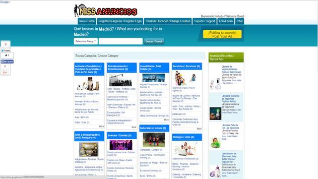 Classifieds Missanuncios.com screenshot 2