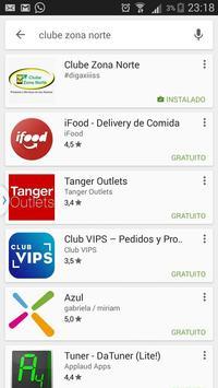 Clube Zona Norte apk screenshot