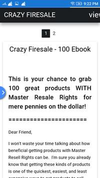25kfiresale - Package Of 100 Products With Rights! poster