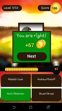 Cricket Quiz 2016 apk screenshot