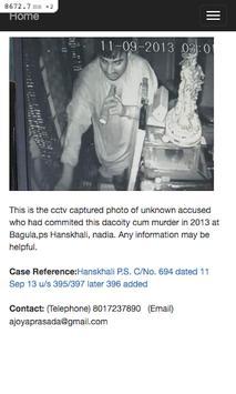 Crime Criminal Search apk screenshot