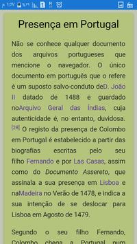 Cristóvão Colombo apk screenshot