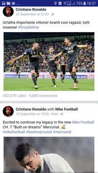 Cristiano Ronaldo Facebook Page App screenshot 5