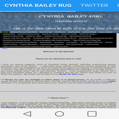 Cynthia Bailey-Rug's Website icon