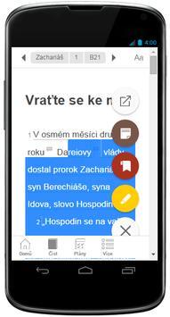 Czech Bible screenshot 3