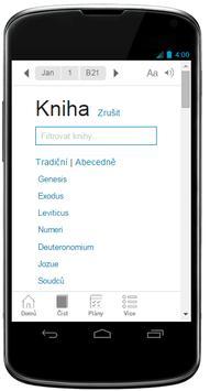 Czech Bible screenshot 1