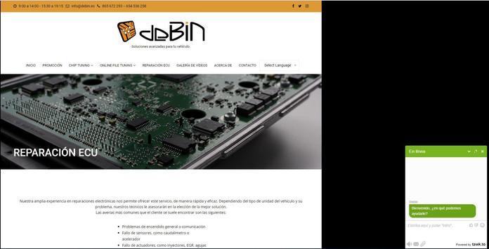 Debin Reprogramación Coche screenshot 6