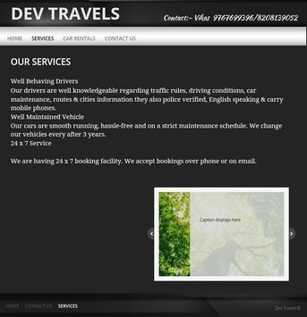DEV TRAVELS screenshot 1