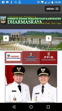 Dharmasraya Web Portal apk screenshot