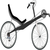DIY No Weld Recumbent Bicycle icon