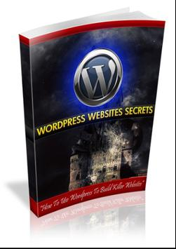 DIY Wordpress Website Secrets poster