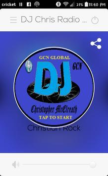 DJ Chris @ GCN Network poster