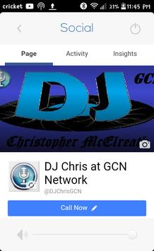 DJ Chris @ GCN Network apk screenshot