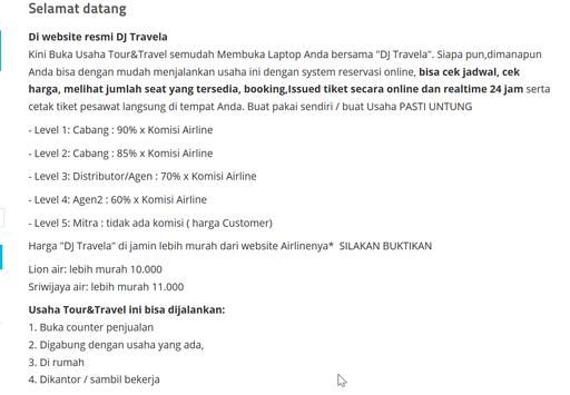 DJ Travela: Tiket Online Anda apk screenshot