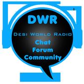 Desi World Radio Chat Forum icon