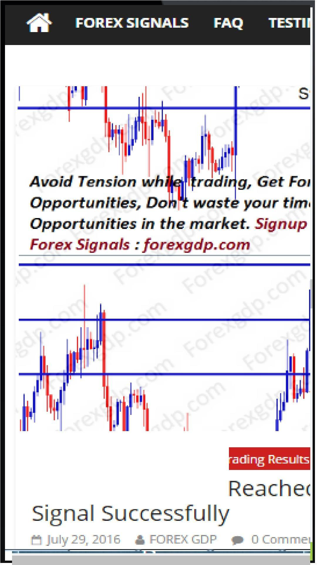 Forex Signals Daily