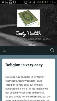 Daily Hadith poster
