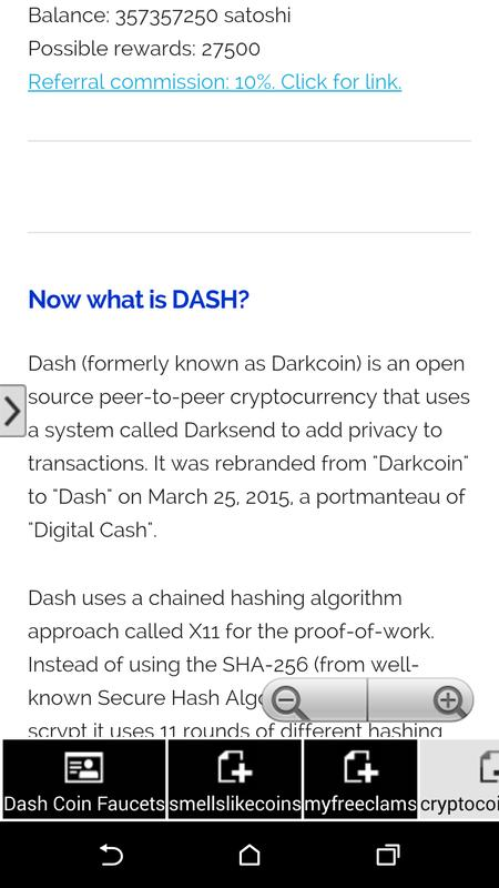 Dash Coin Faucet Collecter APK Download - Free Business APP for ...