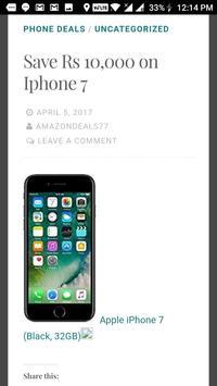 Deals On Amazon apk screenshot
