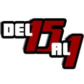 Del 15 Al 1 EDM RADIO Oficial icon