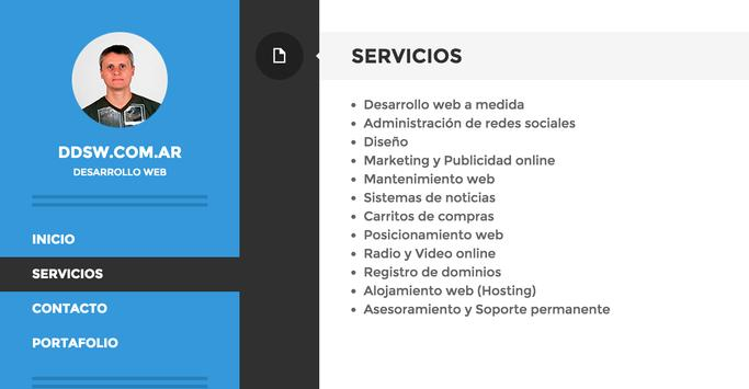 Desarrollo Web apk screenshot