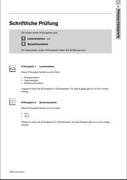 deutsch b1 test muster 1 poster - Dsh Prfung Muster