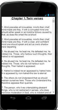 DHAMMAPADA English screenshot 1