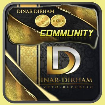 Community Dinar Dirham poster