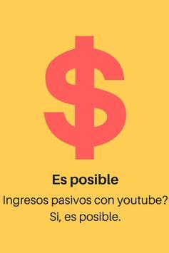 Dinero Pasivo con Youtube screenshot 2