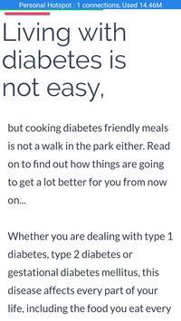 Diabetic Recipes poster
