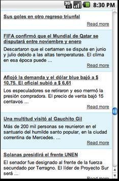 Diario Argentina apk screenshot