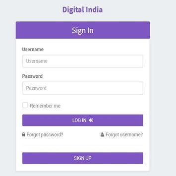 Digital India 1111 apk screenshot