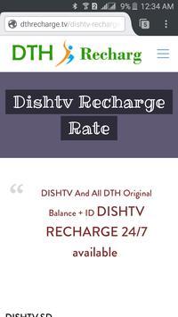 DishTv Recharge Pakistan poster