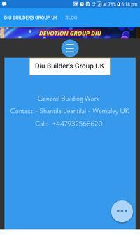 Diu Builder's Group UK poster