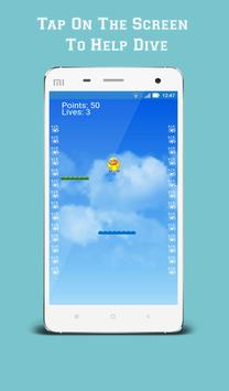 Dive Birdie apk screenshot